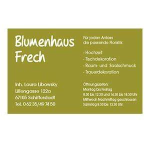Blumenhaus Frech